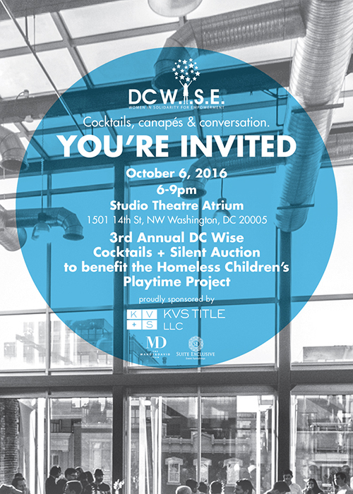 DC-Wise you're invited 400